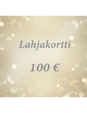 Lahjakortti 100 euroa